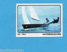 CAMPIONI dello SPORT 1973/74-Figurina n.384- PATTISSON/DAVIES -GBR -VELA-Rec