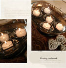 Clear Glass Floating Bowl Tealight Candle Holders Wedding Centerpieces x 50