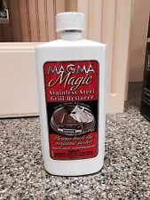 Magma Magic Stainless Steel BBQ Grill Restorer Cleaner 16 oz Marine Boat A10272