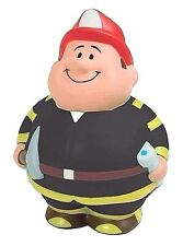 FIREFIGHTER STRESS BALL - Fireman Squeezy Stress Ball.   Fire Department gift.
