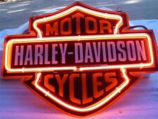12''x9'' Harley-Davidson Motorcycles Bike Neon Sign Light Collectibles Poster