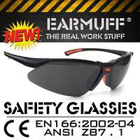"""""""STINGER"""" Arbeitsschutzbrille getönt, Sicherheitsbrille SCHUTZBRILLE nach EN-166"""