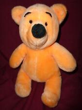 Pooh Bear Vintage Stuffed Plush Disneyland Walt Disney World Korea felt eyes