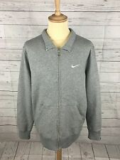 Mens Nike Zipped Fleece Jacket - XL - Grey - Great Condition