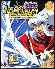 *NEW* INUYASHA *167 EPS & 4 MOVIES*ENG SUBS*ANIME DVD*US SELLER*FREE SHIPPING!!*
