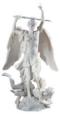Saint Michel Angel L'Archange Statue by Francisque-Joseph Duret Replica 14.5""