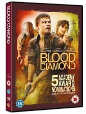Blood Diamond (2007)  Leonardo DiCaprio, Michael Sheen, Basil NEW UK R-2 DVD