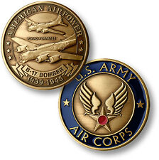U.S. Army / Air Corps - B-17 Flying Fortress - Bronze Challenge Coin