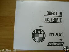 P0035 PUCH---ONDERDELEN PUCH MAXI 1984---NOSTALGIE + ROYAL DE LUXE + STER + SUPE