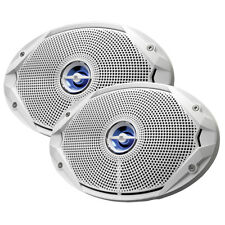 "JBL Marine Audio Stereo Boat Speakers 6"" x 9"" Coaxial Waterproof 300W Peak Power"