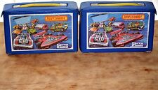 48 matchbox superfast cars - all from 70-80`s,mint or VGC,in two carry cases.