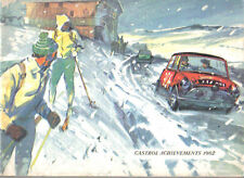 Castrol Achievements 1962 Racing + Rallying successes Air Water Car Motorcycle