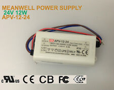 12W, 24V MEANWELL LED POWER SUPPLY APV-12-24 CLASS 2