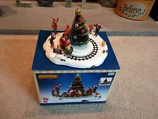 Lemax # 34631 Santa's Kiddie Train ...complete with box. For Christmas Village