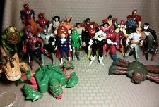 "Marvel 5"" Toy Biz Lot of 26 Figures- Spider-Man X-Men Venom Black Cat Dr Doom"