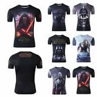 Cool 3D Star Wars Print Darth Vader Anakin Costume T-Shirts Short Sleeve Tops