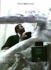 Publicité ancienne Parfum Van Cleef & Arpels Paris Tsar  non parfumé