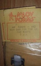 HO Alloy Forms Air Dam For Top of Cab Roofs (3 pcs) AF 3004  NIP