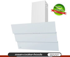 MAAN Cooker Hood Bravo White 6S 90cm! Glass! LED! AUGUST Special 8 hoods Only!