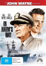 In Harm's Way (DVD, 2004) Region 4