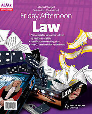 Friday Afternoon Law: A-level Resource Pack, Chappell, Martin, Very Good, Paperb
