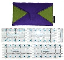 PERFECT ADJUSTABLE QUILTING RULER, 4 Rulers In 1, 3 Inch From Karen Kay Buckley
