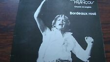 Disque Claude Francçois - Chante en anglais Bordeaux rosé 33T