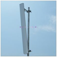 2*17dBi 2.3~2.7G 2.4Ghz Wireless WIFI 802.11B/G/N MIMO Sector Antenna 2*N Female