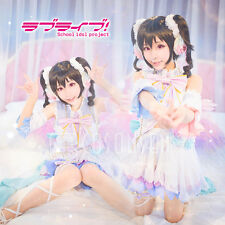 Cosonsen Love Live! White Valentine's Day Nico Yazawa Cosplay Costume All Size