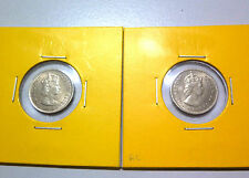 Malaya 5 Cents coin 1961 (2pcs) - UNC/BU