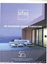 Publicité 2014 - SIFAS - In-outdoor living furniture