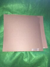 """Bazzill Basics Brown 12""""x12"""" Cardstock Paper Open Pack 25 Pages"""