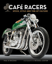 Cafe Racers: Speed, Style, and Ton-Up Culture Book ~ Hardcover ~ BRAND NEW!