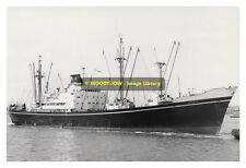 rp8621 - Shaw Savill Line Cargo Ship - Afric , built 1957 - photo 6x4