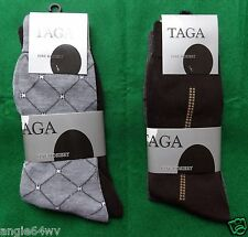 2 Pairs Mens Pattern Dress Socks Size 9-11 See Pics for Colors/Designs NIP 450