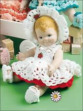 baby dolls clothes set crochet pattern 99p