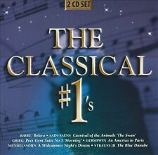 The Classical #1's [2 CD] 2010 by Bach; Liszt; Chopin; Dvorak; Mozart; Beethoven