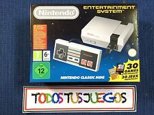 NINTENDO ENTERTAINMENT SYSTEM NUEVA PRECINTADO NES MINI NES SNES SEGA