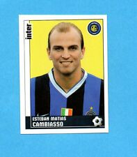 PANINI CALCIATORI 2006-2007- Figurina n.166- CAMBIASSO - INTER -NEW