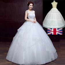 3 Hoops Prom Wedding Bridal Fullness Dress Underskirt Petticoat Crinoline Skirt