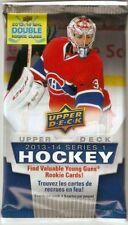 2013-14 Upper Deck Series 1 Hockey Auto or Jersey or Patch HOT PACK