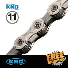 KMC X11.93 Silver Chain 11-Speed 116 link with Missing Link for ROAD/MTB (OEM)
