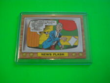 """2013 TOPPS 75TH ANNIVERSARY POP CULTURE 1968 """"CRAZY TV"""" TEST ISSUE CARD #4"""
