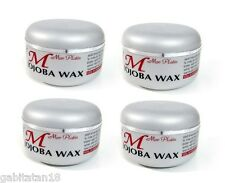 Mon Platin Wax X 4 Jojoba Hair Wax 150ml / 5.1oz FREE SHIPPING WORLDWIDE
