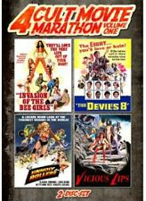 Unholy Rollers/Invasion Of The Bee Girls/Devil's E - 2 DISC SET (2013, DVD New)