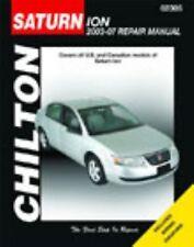 Saturn Ion, 2003-2007 (Chilton's Total Car Care Repair Manuals)