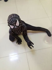 Kids Adult Spiderman Costume Halloween Boys Cosplay Superhero Suit Party Outfits