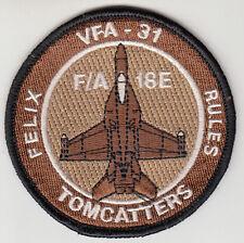 VFA-31 TOMCATTERS DESERT SHOULDER PATCH