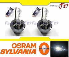 SYLVANIA HID XENON D2S TWO BULB HEAD LIGHT DOT STREET LEGAL REPLACEMENT GENUINE
