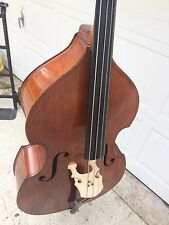 Beautiful German Made 1983 Andrew Schroetter Upright Bass 21 1/2 Model